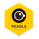 Pearls Tea & Coffee Logo