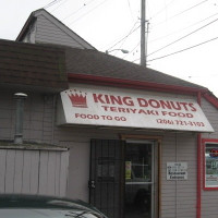 King Donuts and Teriyaki Logo