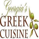 Georgia's Greek Cuisine Logo