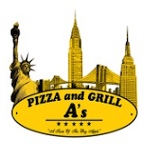 A's Pizza and Grill Logo