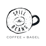Spill The Beans Coffee And Bagel Logo