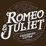 Romeo and Juliet Colombian coffee Logo