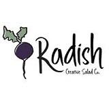 Radish Creative Salad Co Logo