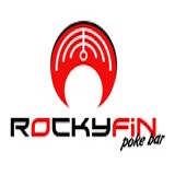 Rocky Fin Poke Bar Logo