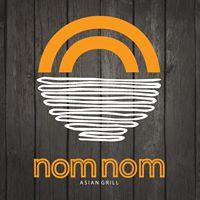 Nom Nom Asian Grill Logo
