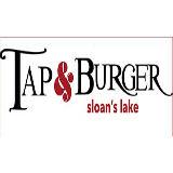 Tap & Burger Sloan's Lake Logo