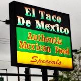 El Taco De Mexico Logo