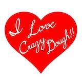 I love Crazy Dough Logo