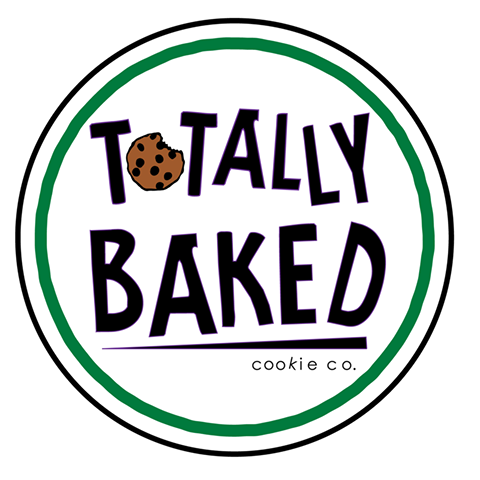 Totally Baked Cookie Co Logo