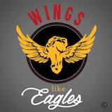 Wings Like Eagles Logo