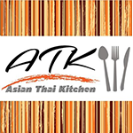 Asian Thai Kitchen Sushi Logo