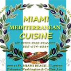 Miami Mediterranean Cuisine Logo