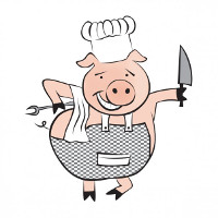 La Esquina Del Lechon Pork & Steakhouse Logo