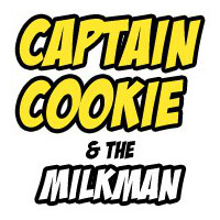 Captain Cookie & The Milkman Logo