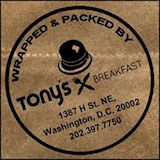 Tony's Breakfast Logo