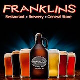 Franklin's Restaurant Brewery and General Store Logo