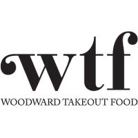 Woodward Takeout Food Logo