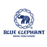 The Blue Elephant Restaurant Logo