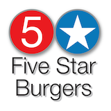 Five Star Burgers Logo