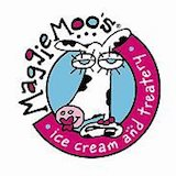 Maggie Moo's Ice Cream and Great American Cookies Logo