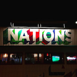 The Nations Bar & Grill  Logo