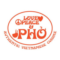 Love Peace & Pho Logo