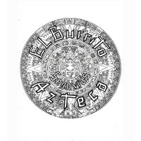 El Burrito Azteca (Rosa Parks) Logo