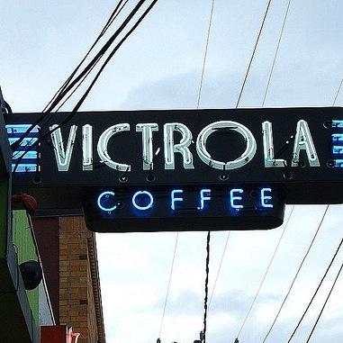 Victrola Cafe and Roastery Logo