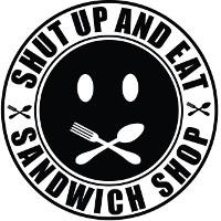Shut Up And Eat PDX Logo