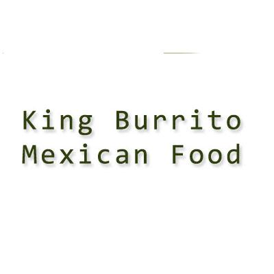 King Burrito Mexican Food Logo