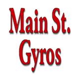Main Street Gyros (Food Truck) Logo