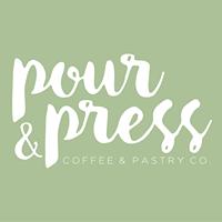 Pour & Press Logo