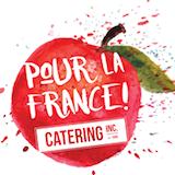 Pour la France! Catering (Kalamath St) Logo