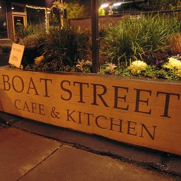 The Boat Street Cafe & Kitchen Logo