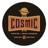 Cosmic Coffee + Beer Garden Logo