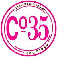 COCINA 35 Old School Mexican Logo