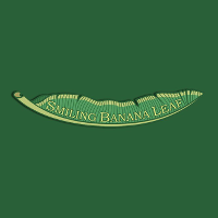 Smiling Banana Leaf Logo