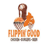 Flippin' Good Chicken, Burgers, Beer Logo