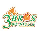 3 Bros 99 Cents Pizza Logo