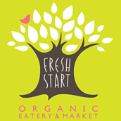 Fresh Start Organic Health Food Market and Eatery Logo