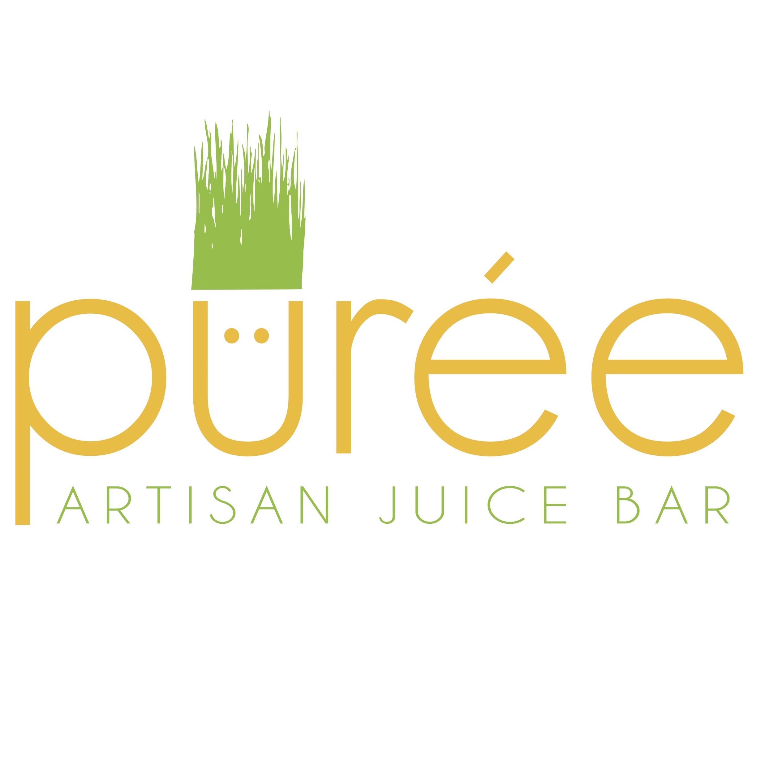 Puree Juice Bar Logo