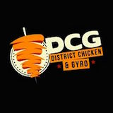 District Chicken and Gyro Logo