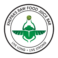 Khepra's Raw Food Juice Bar Logo