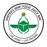 Khepras Raw Food Juice Bar Logo