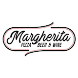 Margherita Pizza Beer and Wine Logo