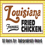Louisiana Fried Chicken - Downtown Logo