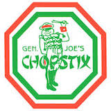 General Joe's Chopstix Logo