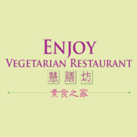 Enjoy Vegetarian - Sunset Logo