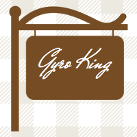 Gyro King - San Francisco Logo
