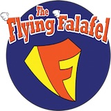 The Flying Falafel Logo